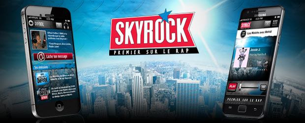 L&#039;appli Skyrock